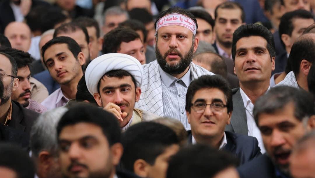 دیدار رهبری در جمع نخبگان اتحادیه اروپا جعفر فرجی موسسه طلوع