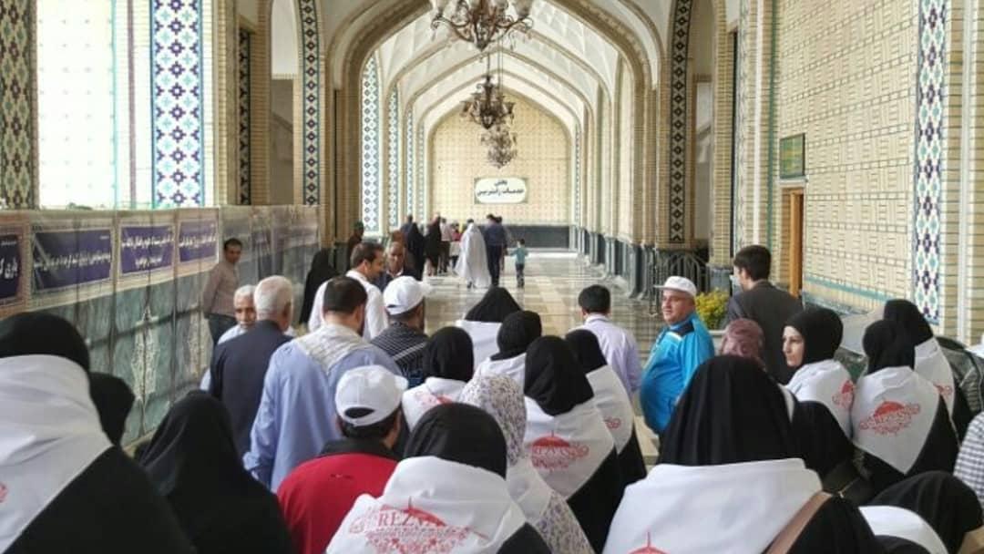 تور زیارتی صیاحتی نخبگان اروپایی در ایران