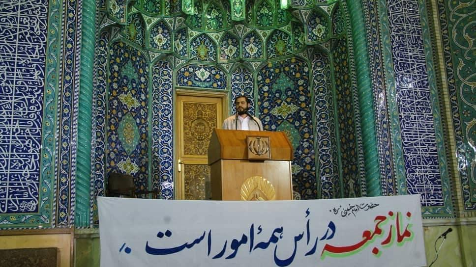 سخنرانی جعفر فرجی در نماز جمعه