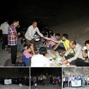 کوهپیمایی در ماه رمضان جعفر فرجی