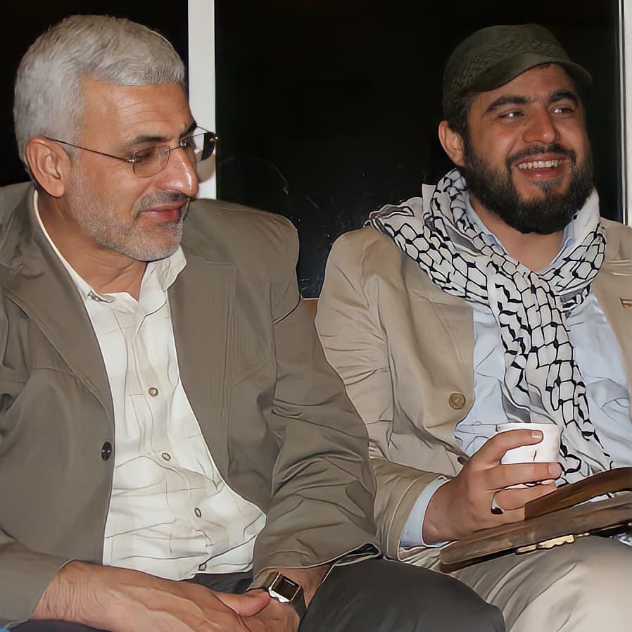 جعفر فرجی و شهید شاطری