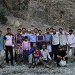 جعفر فرجی در کوهپیمایی ماه رمضان
