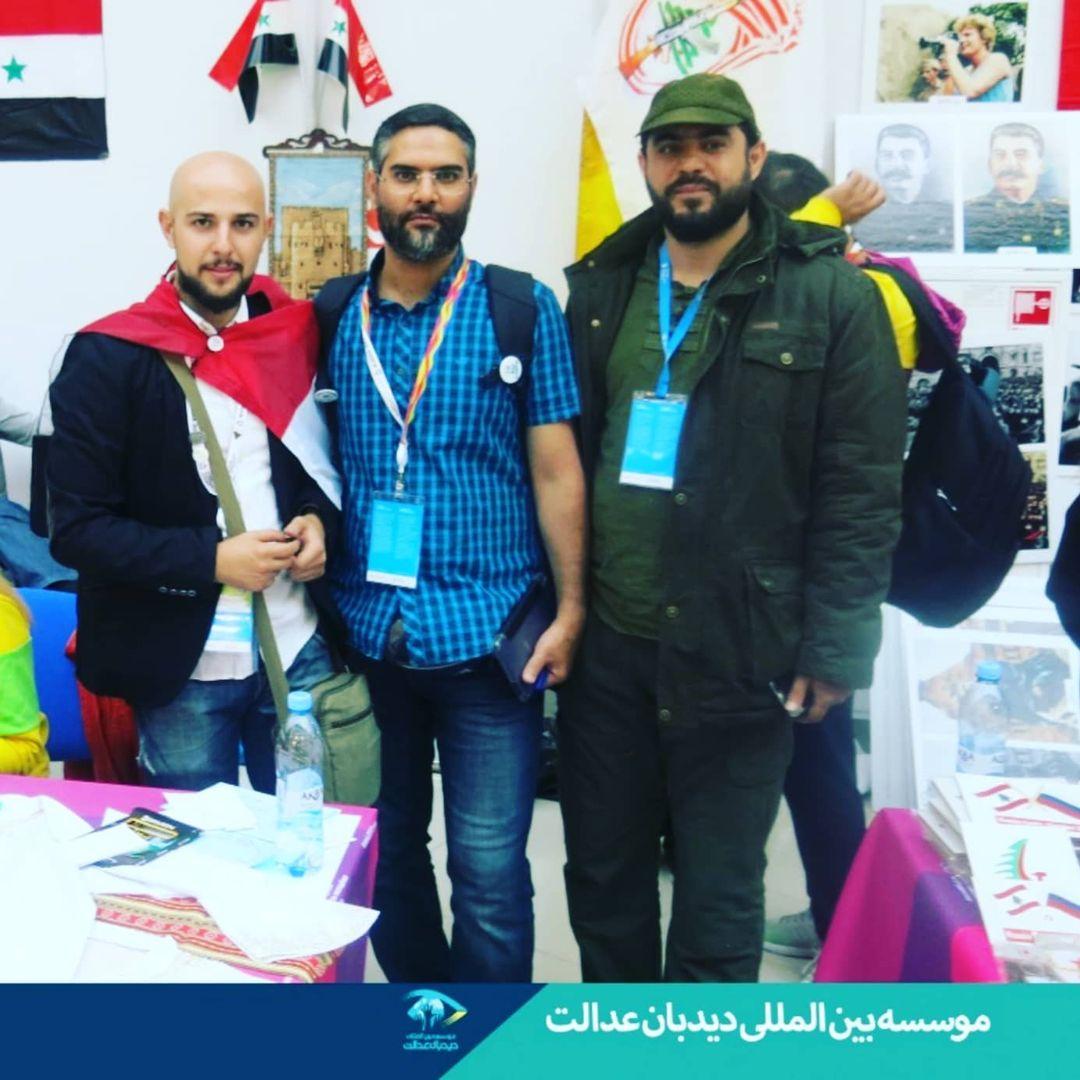 جعفر فرجی در سفر به عراق