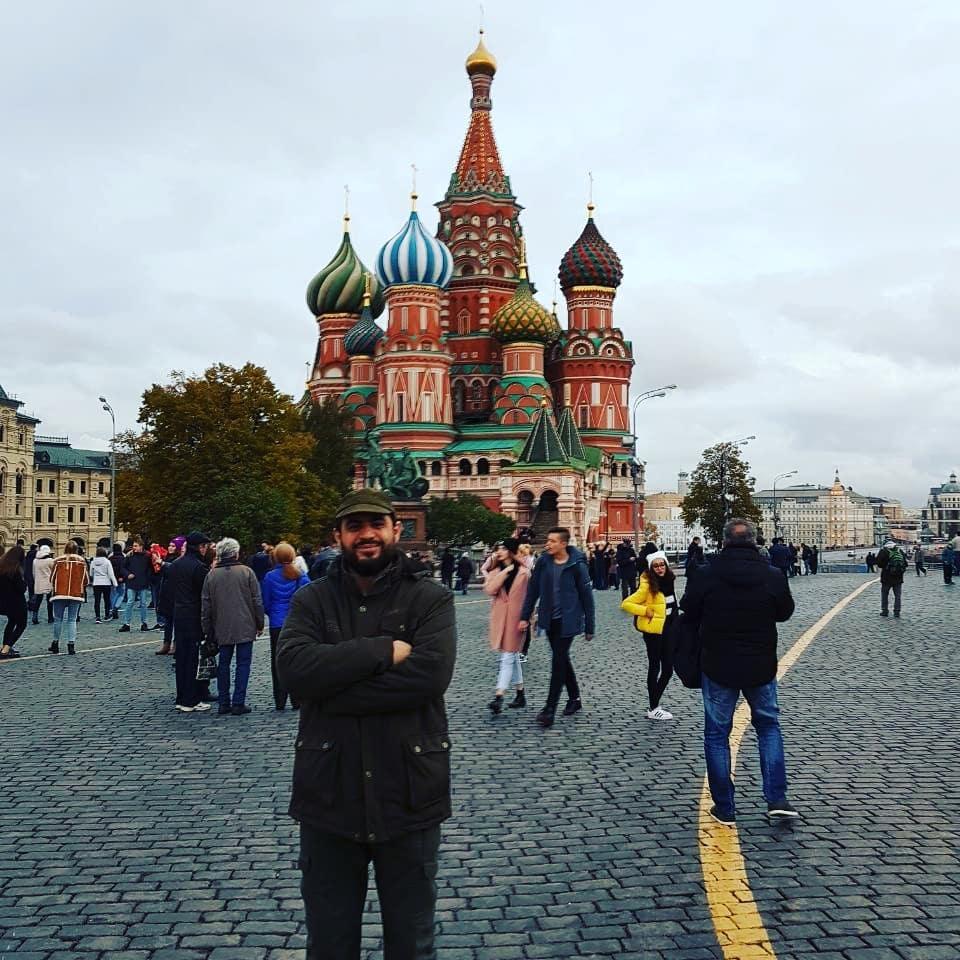 جعفر فرجی در سفر به روسیه